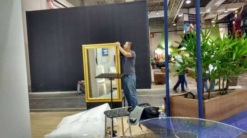 Alugar Espelho Fotográfico para Feiras Promocionais Mandaqui - Espelho Fotográfico para Comemorações