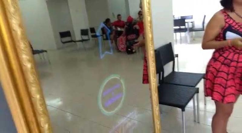 Alugar Espelho Mágico Limão - Espelho Mágico para Eventos