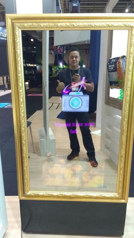 Aluguel de Espelho Mágico Cabine Preço Mooca - Aluguel de Espelho Mágico de Fotos