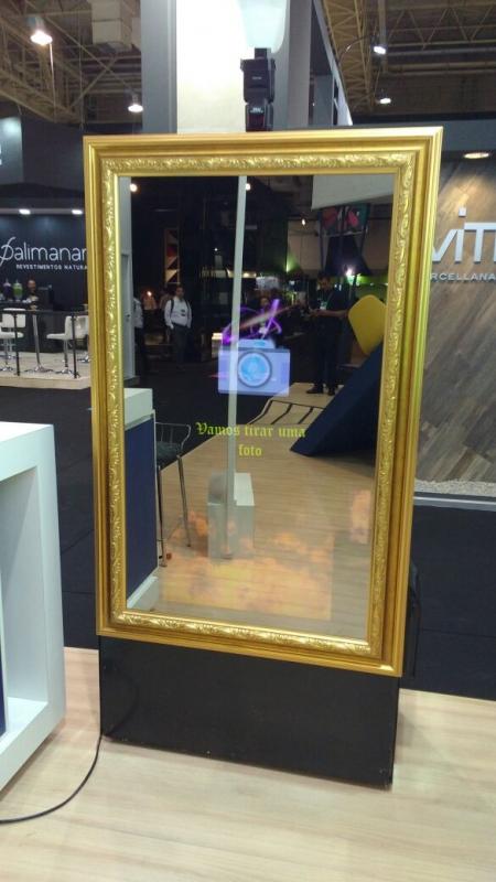 Aluguel de Espelho Mágico para Eventos Sociais Preço Interlagos - Aluguel de Espelho Mágico para Eventos Sociais