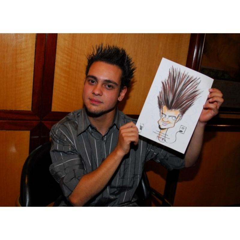 Caneca com Caricatura para Casamento em Sp Tremembé - Caricaturistas ao Vivo para Casamento