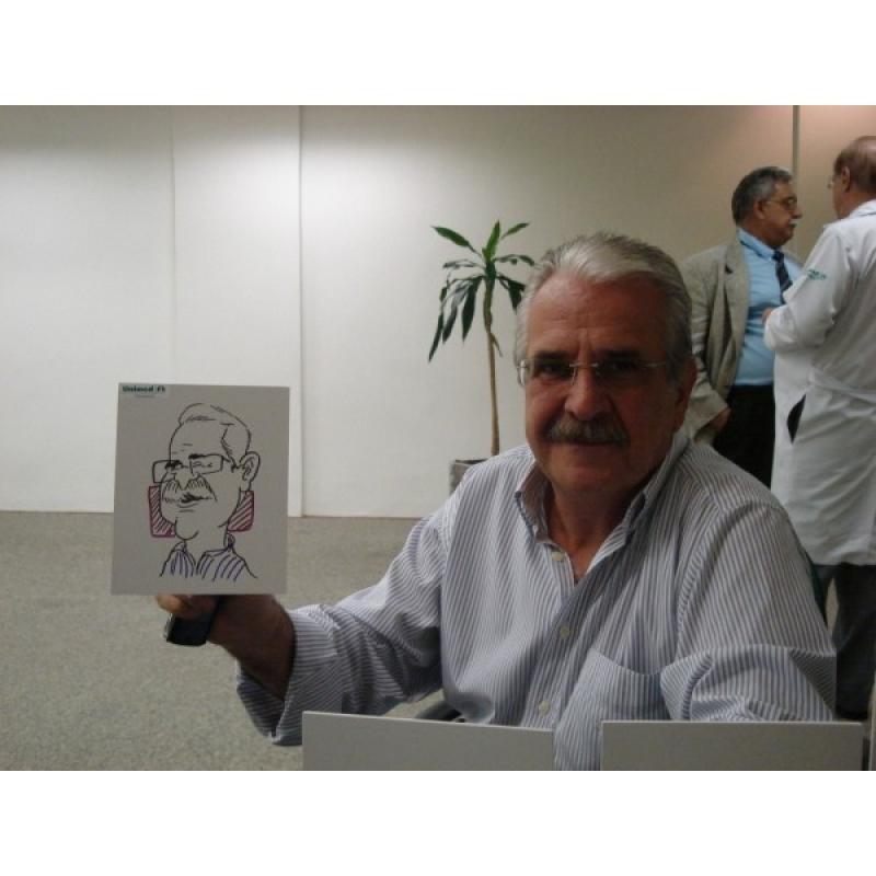 Caricatura ao Vivo em Canecas para Festa Corporativa Luz - Caricaturas ao Vivo em Caneca para Festas Corporativas