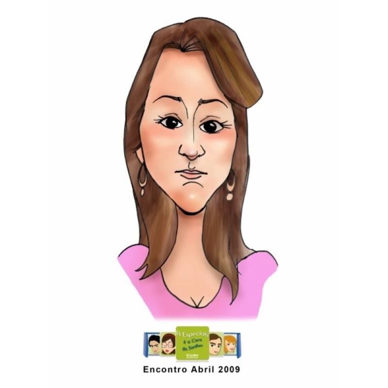 Caricatura Personalizada Aclimação - Caricatura para Formatura