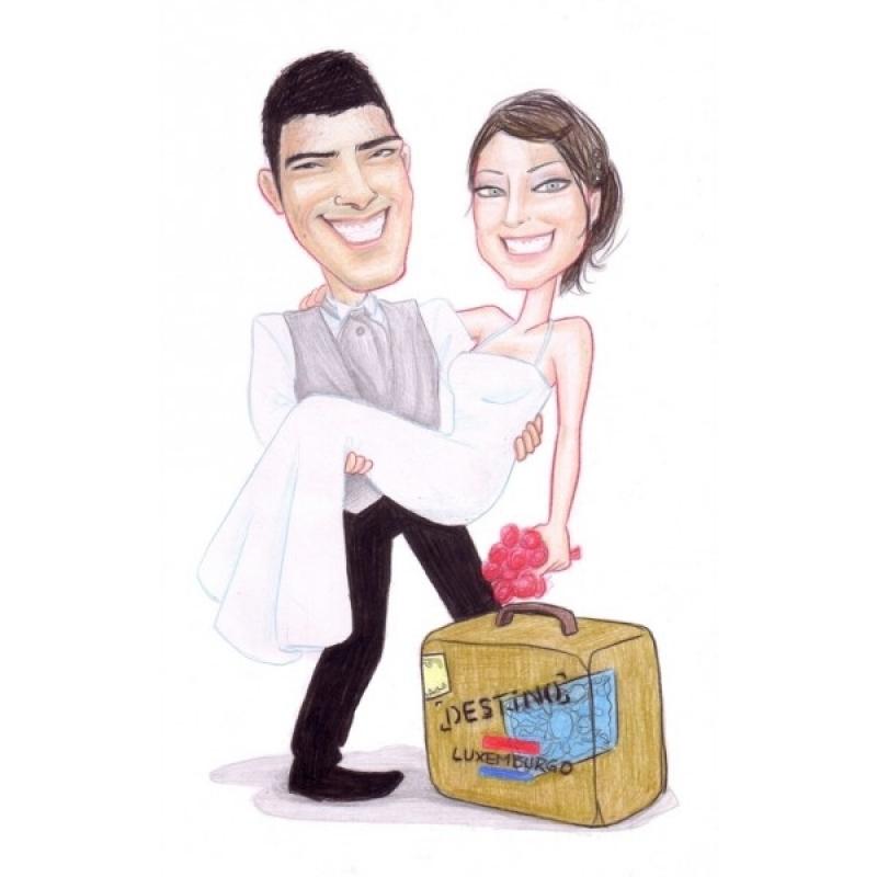 Empresa de Caneca com Caricatura para Casamento São Paulo - Caricatura para Casamento