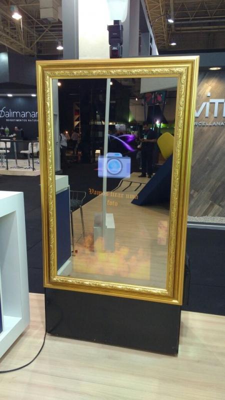 Empresa de Locação de Espelho Mágico Cabine Saúde - Locação de Espelho Mágico Cabine