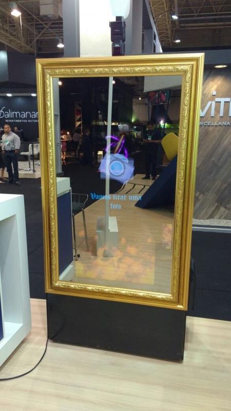 Espelho Fotográfico para Comemorações Centro - Espelho Fotográfico para Comemorações