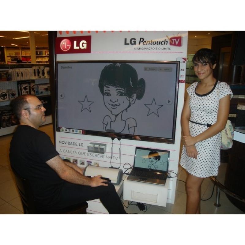Quanto Custa Caricatura ao Vivo em Festa de Aniversário Campo Belo - Caricaturas ao Vivo em Caneca para Festas Corporativas