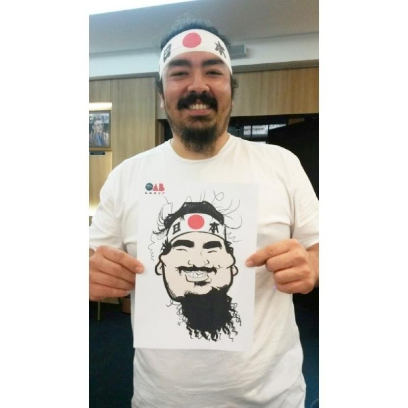 Quanto Custa Caricaturas ao Vivo em Camisetas Jaguaré - Caricatura ao Vivo em Festa Empresarial