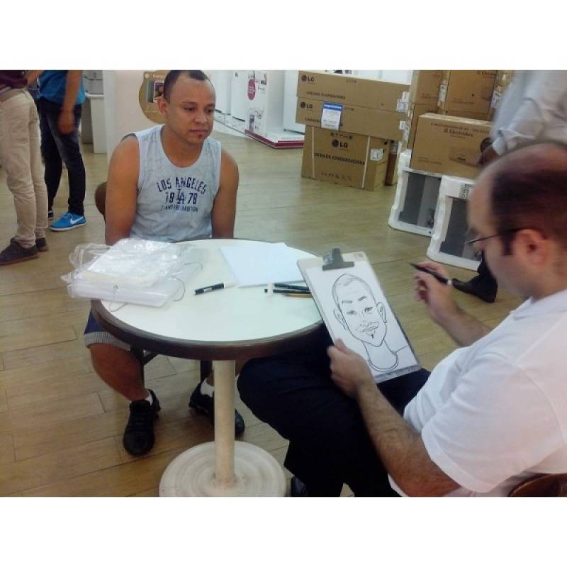 Quanto Custa Caricaturas em Camisetas para Eventos Santa Cecília - Caricaturista para Eventos