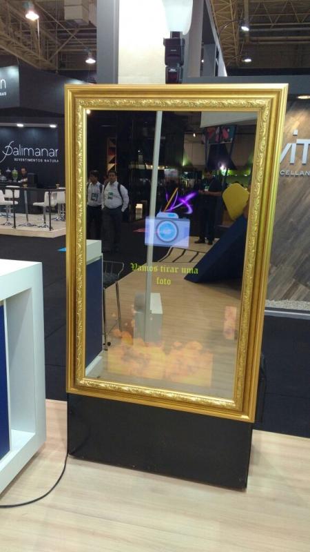 Quanto Custa Espelho Fotográfico para Feiras Promocionais Cachoeirinha - Espelho Fotográfico para Eventos