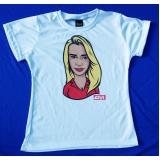 caricatura em camiseta Vila Leopoldina